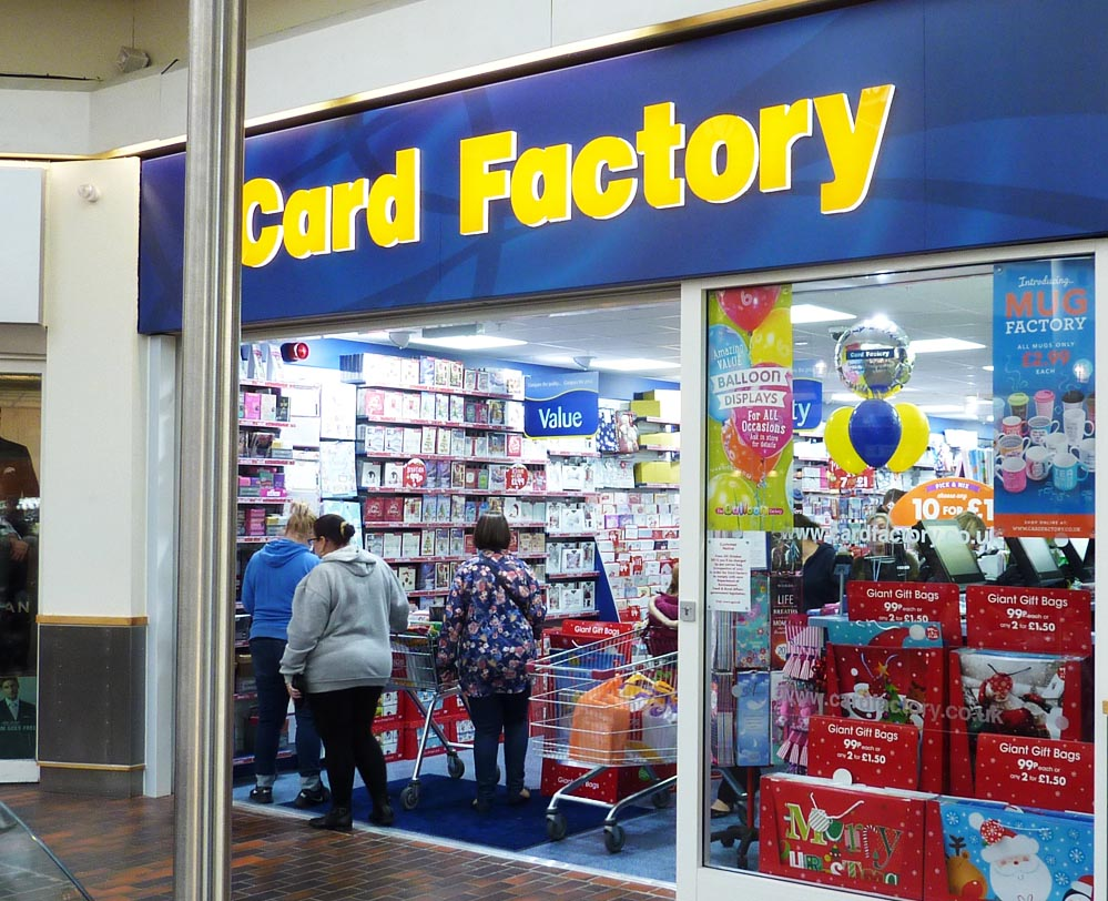 Card factory hempstead valley shopping centre kent shop dine enjoy negle Image collections