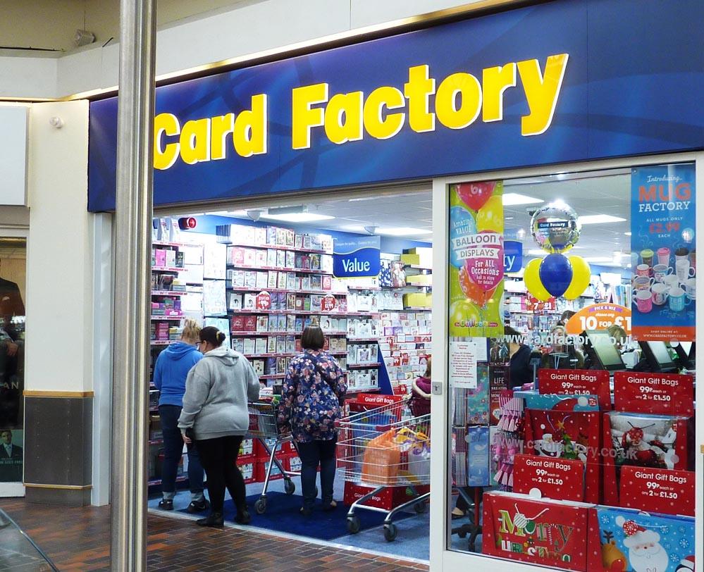 Card factory hempstead valley shopping centre kent shop dine enjoy negle Images