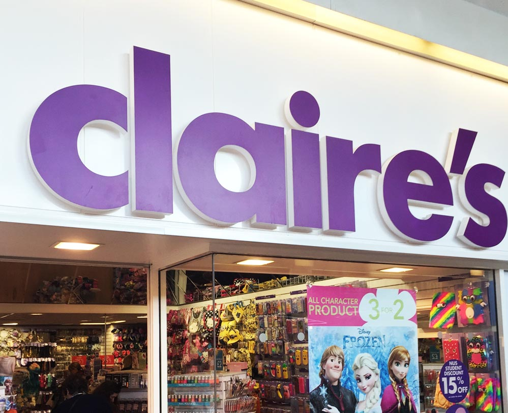 Claire's | Hempstead Valley Shopping Centre, Kent. Shop ...