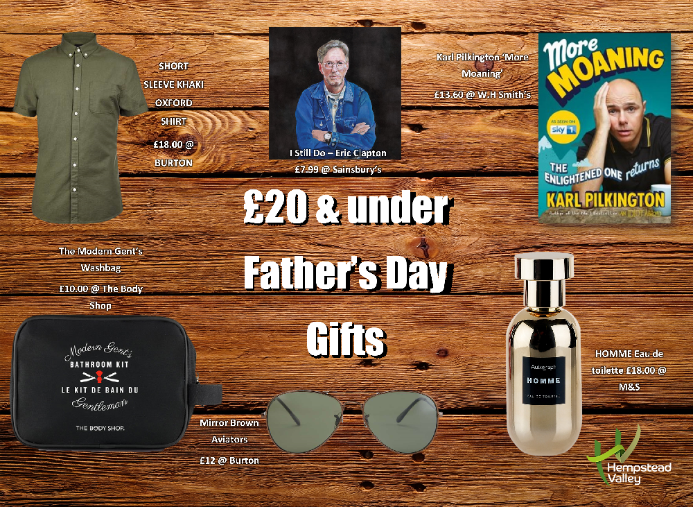 Father's Day gift Ideas for any budget... | Hempstead ...