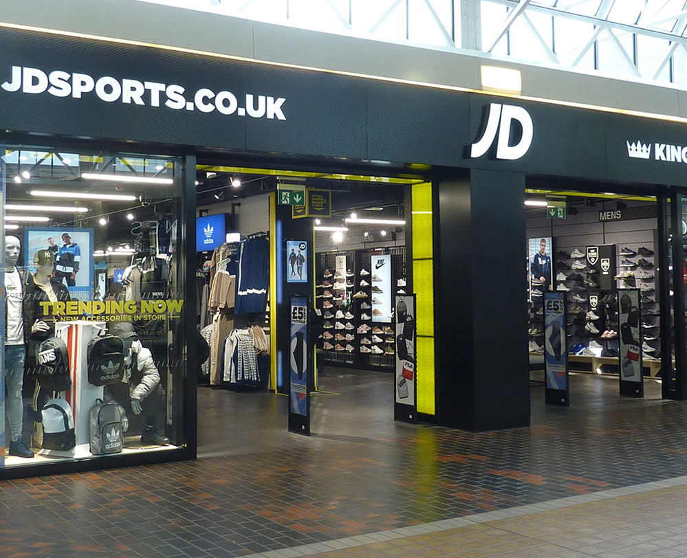 Jd Sports Hempstead Valley Shopping Centre Kent Shop